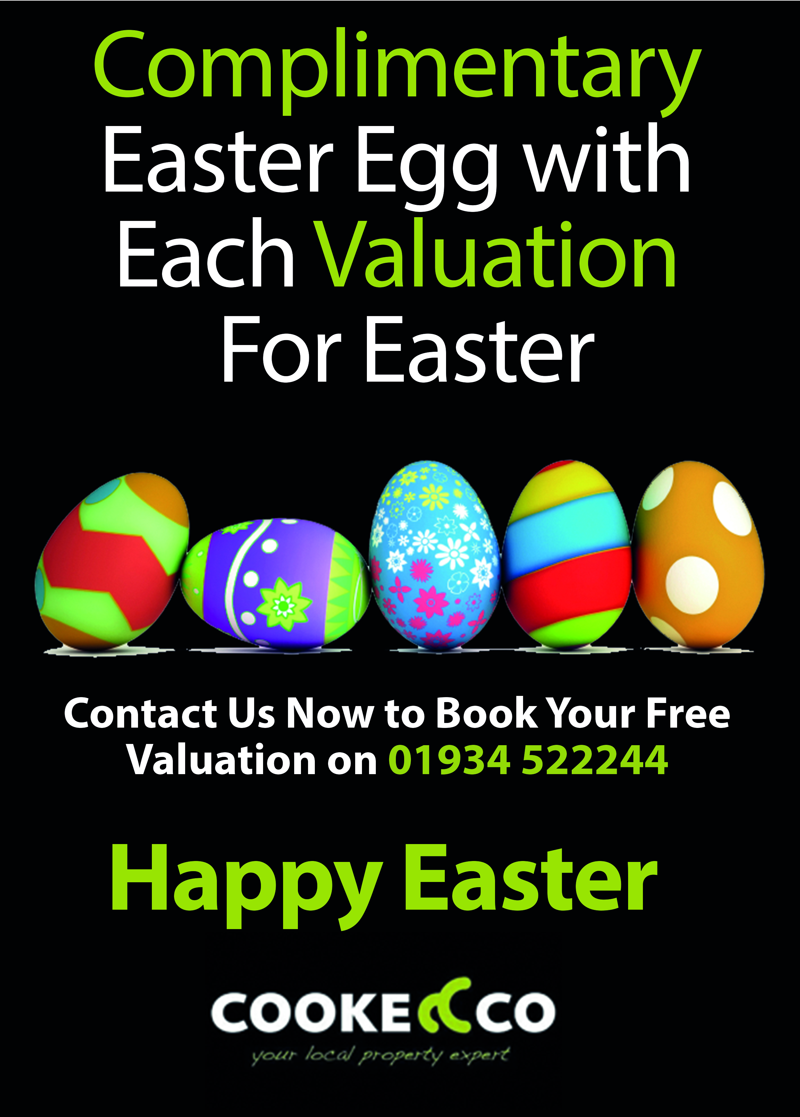 Get a Free Easter Egg this Easter with Cooke & Co.